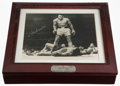 Boxing Collectibles:Memorabilia, 1993 Muhammad Ali Signed Fossil Watch With Display Box. ...