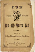 Books:Americana & American History, [Americana]. Fun from Under the Old White Hat. New York: Fay& Cox, 1872. Chapbook with original printed wrappers. ...