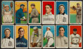 Baseball Cards:Lots, 1909-11 T206 White Border Collection (31) With Scarce Brands,Overprints and Southern Leaguers. ...