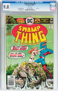 Bronze Age (1970-1979):Horror, Swamp Thing #23 (DC, 1976) CGC NM/MT 9.8 White pages....