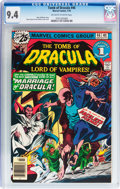 Bronze Age (1970-1979):Horror, Tomb of Dracula #46 (Marvel, 1976) CGC NM 9.4 Off-white to whitepages....