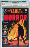 Golden Age (1938-1955):Horror, Vault of Horror #36 (EC, 1954) CGC Qualified VF/NM 9.0 Whitepages....
