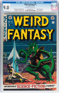 Golden Age (1938-1955):Science Fiction, Weird Fantasy #15 (EC, 1952) CGC VF/NM 9.0 Off-white to whitepages....