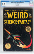 Golden Age (1938-1955):Science Fiction, Weird Science-Fantasy Annual #2 (EC, 1953) CGC VG/FN 5.0 Off-whitepages....