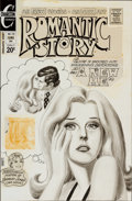 Original Comic Art:Covers, Romantic Story #119 Cover Original Art (Charlton, 1972)....