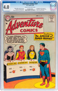 Silver Age (1956-1969):Superhero, Adventure Comics #247 (DC, 1958) CGC VG 4.0 Cream to off-white pages....