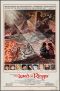"Movie Posters:Animation, The Lord of the Rings (United Artists, 1978). One Sheet (27"" X 41"")Style B. Animation.. ..."