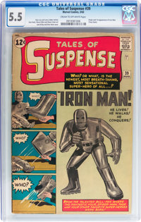 Tales of Suspense #39 (Marvel, 1963) CGC FN- 5.5 Cream to off-white pages