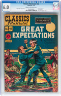Golden Age (1938-1955):Classics Illustrated, Classics Illustrated #43 Great Expectations (Gilberton, 1947) CGCFN 6.0 Cream to off-white pages....