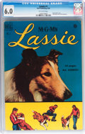 Golden Age (1938-1955):Miscellaneous, Lassie #1 (Dell, 1950) CGC FN 6.0 Off-white pages....