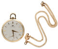 Timepieces:Pocket (post 1900), Wittnauer 17 Jewel Gold Filled Pocket Watch. ...