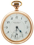 Timepieces:Pocket (post 1900), Baird-North 17 Jewel Open Face Pocket Watch. ...