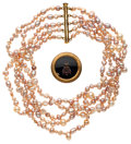Estate Jewelry:Necklaces, Freshwater Cultured Pearl, Multi-Stone, Gold Jewelry. ...