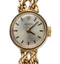 Timepieces:Wristwatch, Lady's Rolex 14k Gold Wristwatch. ...