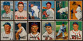 Baseball Cards:Lots, 1951 Bowman Baseball Collection (122) With Whitey Ford Rookie. ...