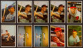Baseball Cards:Lots, 1953 Bowman Color Baseball Collection (117). ...