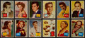 Non-Sport Cards:Sets, 1957 Topps Hit Stars Mid To High Grade Complete Set (88). ...