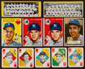 Baseball Cards:Lots, 1951 - 1954 Topps Baseball Collection (167). ...