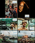 """Movie Posters:War, Apocalypse Now (Procines, 1979). Spanish Lobby Card Set of 12(9.25"""" X 13.25""""). War.. ... (Total: 12 Items)"""