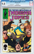 Modern Age (1980-Present):Miscellaneous, The Further Adventures of Indiana Jones #26 (Marvel, 1985) CGC NM/MT 9.8 White pages....