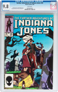 Modern Age (1980-Present):Miscellaneous, The Further Adventures of Indiana Jones #29 (Marvel, 1985) CGC NM/MT 9.8 White pages....