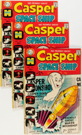 Bronze Age (1970-1979):Cartoon Character, Casper Spaceship #1 File Copy Long Box Group (Harvey, 1972)Condition: Average VF/NM....