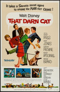 """Movie Posters:Comedy, That Darn Cat & Others Lot (Buena Vista, R-1973). One Sheets(3) (27"""" X 41"""") Regular & Style A. Comedy.. ... (Total: 3Items)"""