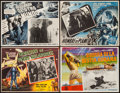 "Movie Posters:Science Fiction, Earth vs. the Flying Saucers & Others Lot (Columbia, 1956).Mexican Lobby Cards (8) (12.5"" X 16"", 12.5"" X 16.5"", & 13"" X16.... (Total: 8 Items)"