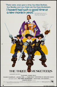 "The Three Musketeers & Others Lot (20th Century Fox, 1974). One Sheets (35) (27"" X 41""). Swashbuckler..."