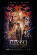 "Movie Posters:Science Fiction, Star Wars: Episode I - The Phantom Menace & Other Lot (20th Century Fox, 1999). One Sheets (2) (27"" X 40"") DS. Science Ficti... (Total: 2 Items)"