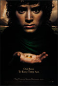 """Movie Posters:Fantasy, The Lord of the Rings: The Fellowship of the Ring (New Line, 2001). One Sheet (27"""" X 40"""") DS Advance Frodo Style. Fantasy.. ..."""