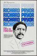"""Movie Posters:Documentary, Richard Pryor: Live in Concert (Warner Brothers, 1979). One Sheets (2) (27"""" X 41"""" and 27"""" X 39"""") Regular & Review Styles. Do... (Total: 2 Items)"""