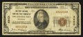 National Bank Notes:Oklahoma, Oklahoma City, OK - $20 1929 Ty. 1 The First NB & TC Ch. # 4862. ...