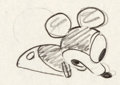 Animation Art:Production Drawing, Plane Crazy Mickey Mouse Production Drawing (Walt Disney,1928/29)....