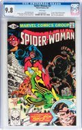 Modern Age (1980-Present):Superhero, The Spider-Woman #37 (Marvel, 1981) CGC NM/MT 9.8 White pages....