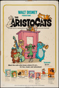 """Movie Posters:Animation, The Aristocats (Buena Vista, 1971). Poster (40"""" X 60""""). Animation....."""