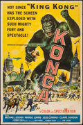 "Movie Posters:Science Fiction, Konga (American International, 1961). Poster (40"" X 60""). ScienceFiction.. ..."