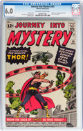 Silver Age (1956-1969):Superhero, Journey Into Mystery #83 (Marvel, 1962) CGC FN 6.0 Off-white to white pages....