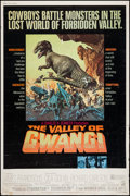"Movie Posters:Science Fiction, The Valley of Gwangi (Warner Brothers, 1969). Poster (40"" X 60""). Science Fiction.. ..."