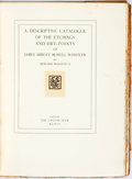 Books:Reference & Bibliography, [James McNeill Whistler]. Howard Mansfield. A DescriptiveCatalogue of the Etchings and Dry-Points of James AbbottMcNei...
