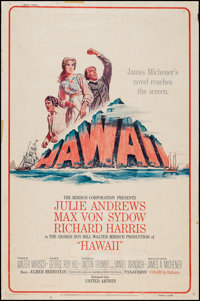 "Hawaii & Other Lot (United Artists, 1966). Posters (2) (40"" X 60""). Drama. ... (Total: 2 Items)"