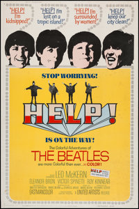 """Help! (United Artists, 1965). Poster (40"""" X 60""""). Rock and Roll"""