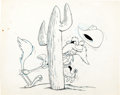 Animation Art:Production Drawing, Yosemite Sam and Road Runner Illustration Group (Warner Brothers,1980s).... (Total: 6 Items)