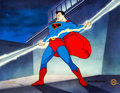 "Animation Art:Model Sheet, Superman ""The Magnetic Telescope"" Limited Edition Cel#131/500 Signed by Myron Waldman (DC, Fleischer Studios, 199..."