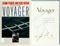 Books:Biography & Memoir, Jeana Yeager and Dick Rutan. SIGNED. Voyager. New York:Knopf, 1987. First edition. Signed by the authors. Publi...