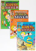 Bronze Age (1970-1979):Cartoon Character, Richie Rich Gold and Silver #1-42 Complete Run Group (Harvey, 1975-82) Condition: Average VF/NM.... (Total: 42 Comic Books)