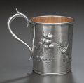Silver Holloware, American:Child's Cups, AN AMERICAN COIN SILVER AND SILVER GILT CHILD'S CUP, Gorham Manufacturing Co., Providence, Rhode Island, circa 1855-1860. Ma...