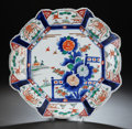 Asian:Chinese, A JAPANESE IMARI PORCELAIN CHARGER. 18-1/4 inches diameter (46.4cm). Property from the Estate of Barry and Rochelle Lazar...