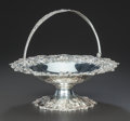 Silver Holloware, American:Tazze, AN AMERICAN SILVER HANDLED BASKET, Samuel Kirk & Son,Baltimore, Maryland, circa 1910. Marks: S. KIRK & SON CO.,925/1000,...