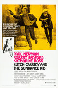 """Movie Posters:Western, Butch Cassidy and the Sundance Kid (20th Century Fox, 1969). OneSheets (2) (27"""" X 41"""") Style A & Style B.. ... (Total: 2 Items)"""
